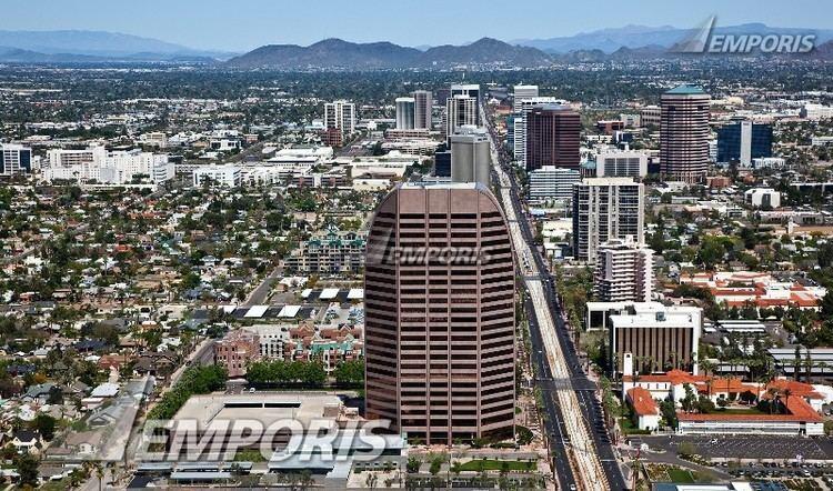 Viad Tower Viad building along Central Avenue in Phoenix Arizona Viad Tower