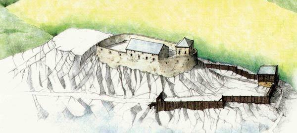 Vianden in the past, History of Vianden