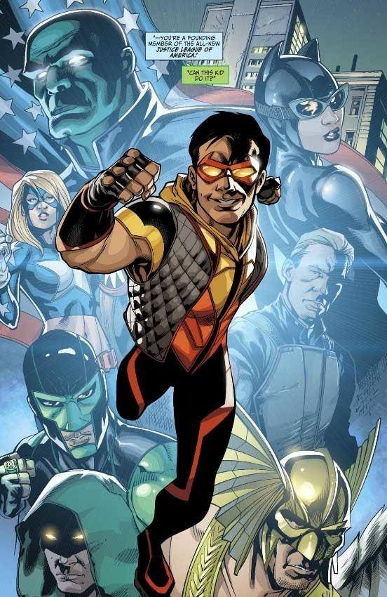 Vibe (comics) Justice League of America39s Vibe 1 Review Moar Powah