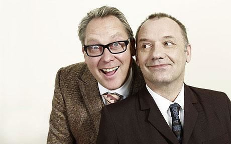 Vic and Bob Vic Reeves and Bob Mortimer interview for Shooting Stars Telegraph