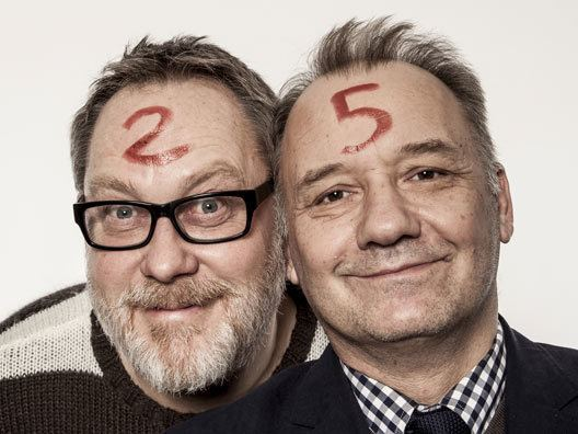 Vic and Bob Vic and Bob finally announce a London date for their 39Poignant