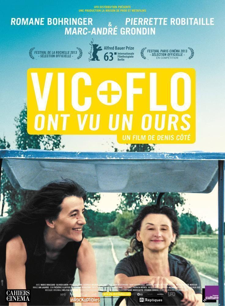 Vic and Flo Saw a Bear Cineplexcom Vic et Flo