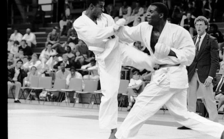 Vic Charles Vic Charles Photo gallery Karate Records Karate results and charts