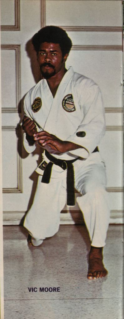 Vic Moore The Forgotten Fury 12 Legendary Black Martial Arts