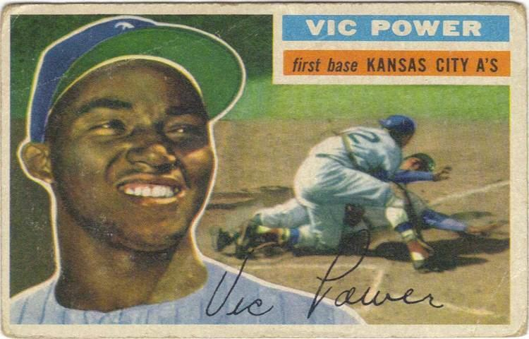 Vic Power (baseball) Victor Pellot Power Best Latino First Baseman of All Time