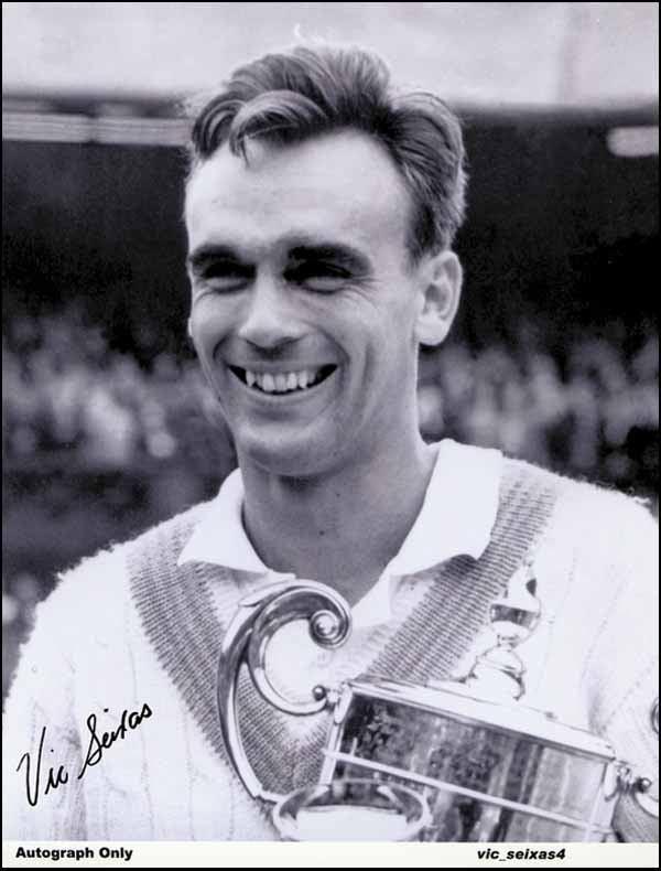 Vic Seixas 2149 Tennis Autograph Vic Seixas Lot 2149