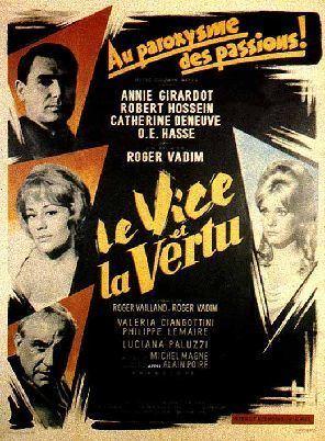 Vice and Virtue Le vice et la vertu The Internet Movie Plane Database