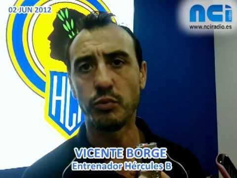 Vicente Borge 120602 VICENTE BORGE ENTRENADOR HERCULES B YouTube