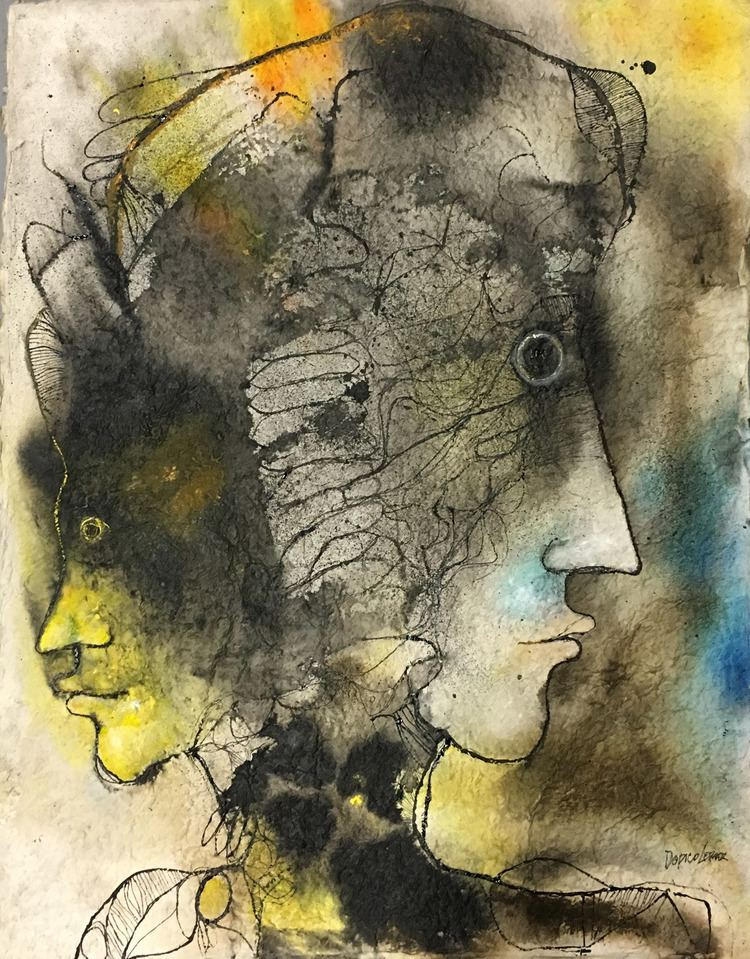 Vicente Dopico Lerner Vicente DopicoLerner Mixed Media on Paper Archives MAC FINE ART