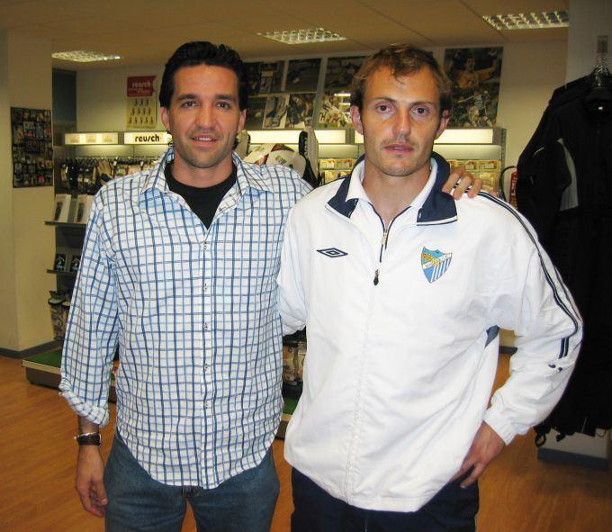 Vicente Valcarce Arnau y Vicente Valcarce Mlaga Soloporteros