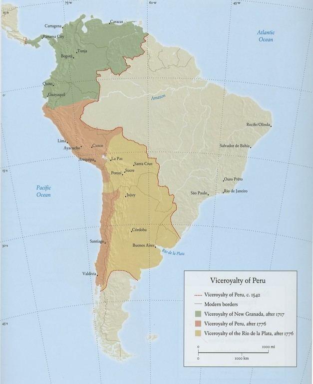 Viceroyalty of Peru colonialartorgotherimagesessaysviceroyaltype
