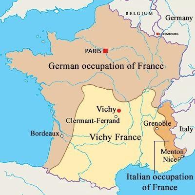 Vichy France VICHY FRANCE MAP Recana Masana