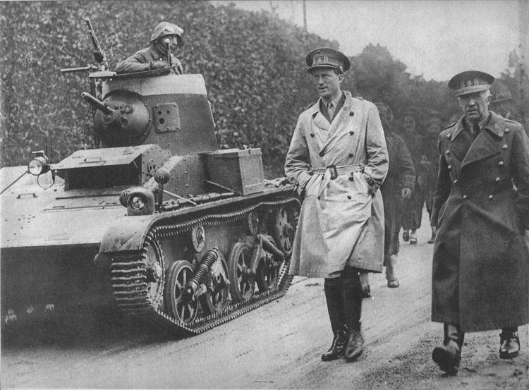 Vickers T-15 light tank