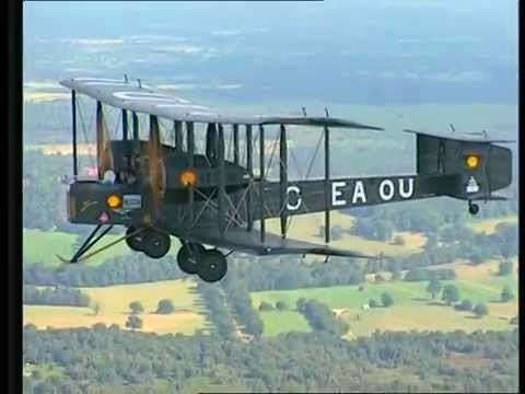 Vickers Vimy Vickers Vimy WW1 Bomber First across the Atlantic YouTube