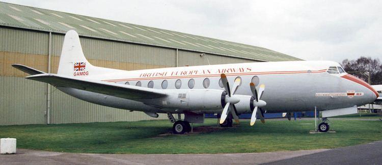 Vickers Viscount Oldprops Vickers Viscount
