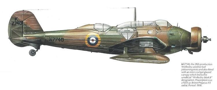 Vickers Wellesley Vickers Wellesley Mk2 WWII Britmodellercom