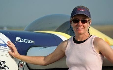 Vicki Cruse Champion aerobatic pilot Vicki Cruse dies in air crash Telegraph