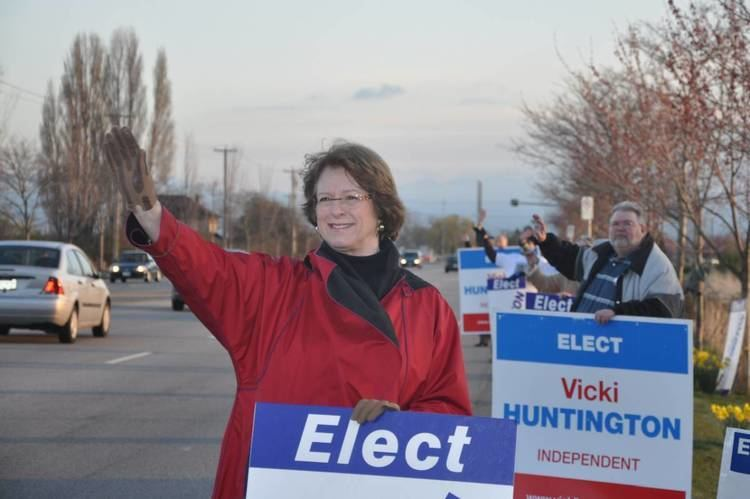 Vicki Huntington Vicki Huntington Why an independent can best represent Delta South