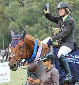 Vicki Roycroft Top Australian showjumper Infatuation dies Horsetalk