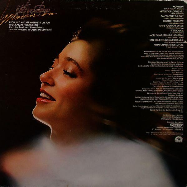 Vicki Sue Robinson Vicki Sue RobinsonMovin39 On 1979 LP Luther Vandross