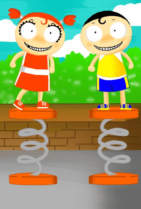Vicky & Johnny Vicky and Johnny Film Animation Cartoon HD