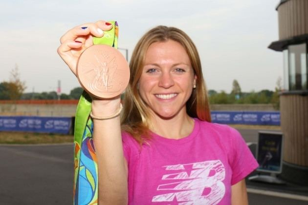 Vicky Holland Olympic medallist Vicky Holland backs triathlon campaign at Queen