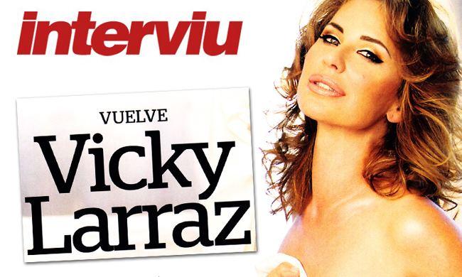 Vicky Larraz El sonado regreso de Vicky Larraz quotEstoy cabreada con