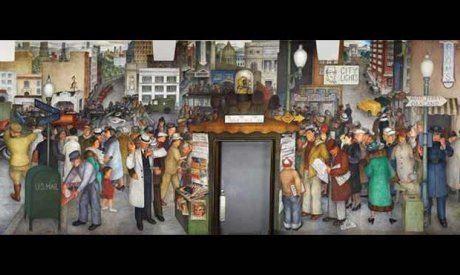 Victor Arnautoff New Deal Murals Humanities