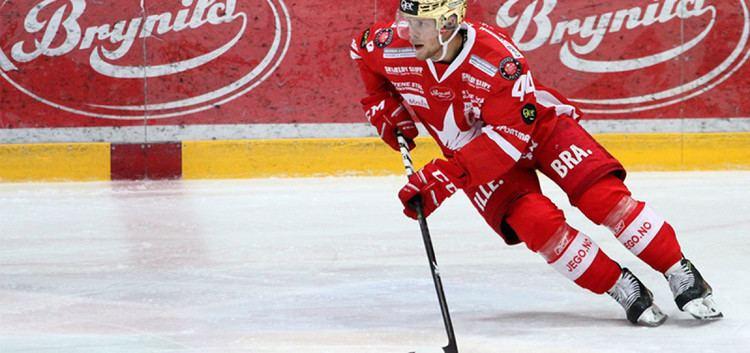 Victor Backman Victor Backman gleder seg til sluttspillet Stjernen Hockey