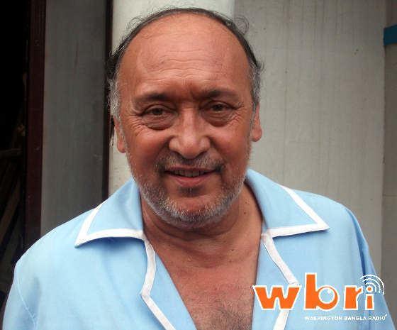 Victor Banerjee From the Sets of Buddhuram Dhol Duniya Gol 2012 New