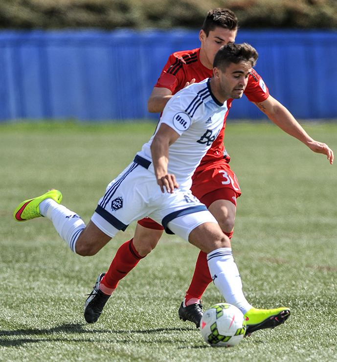 Victor Blasco WFC2 home opener with TFC II ends all square Prost Amerika