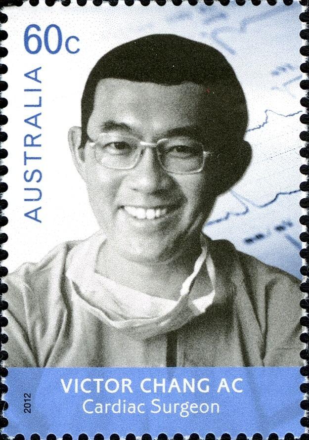 Victor Chang WNS AU03912 Medical Doctors Victor Chang AC Cardiac Surgeon
