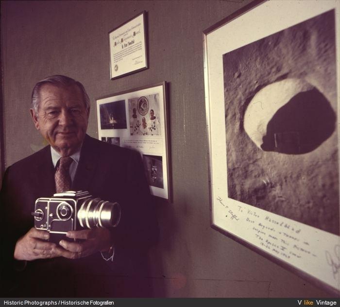 Victor Hasselblad Fotgrafos con Hasselblad Cmaras analgicas