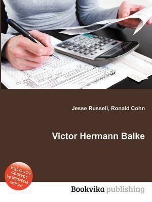 Victor Hermann Balke Victor Hermann Balke Reviews Description more ISBN