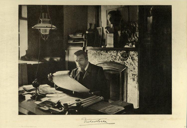 Victor Horta MY ARCHITECTURAL MOLESKINE VICTOR HORTA HOUSESTUDIO IN