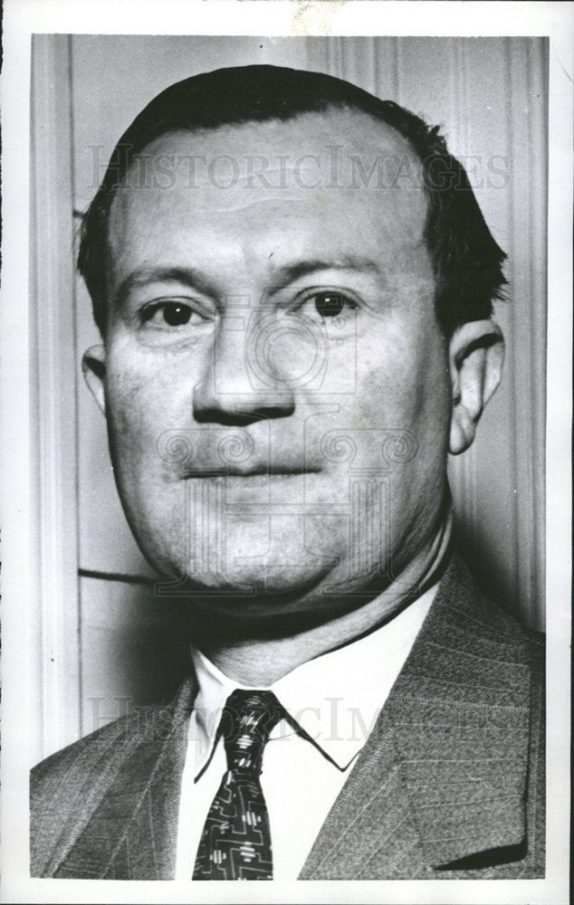Victor Larock 1956 Press Photo Victor Larock Likely Belgium Foreign Minister