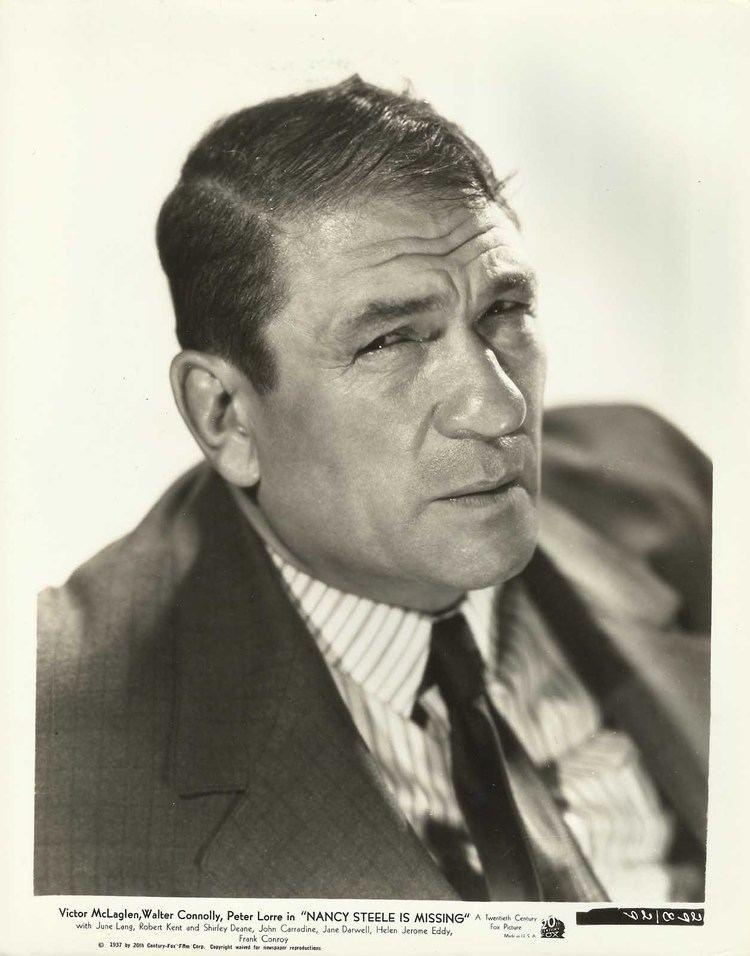 Victor McLaglen VICTOR McLAGLEN in quotNancy Steele is Missingquot Original