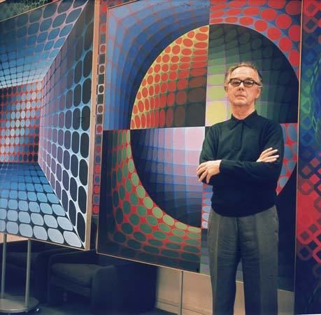 Victor Vasarely Victor Vasarely French artist Britannicacom