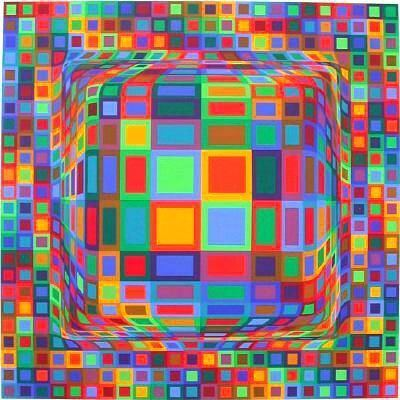 Victor Vasarely Victor Vasarely Paintings Artwork Gallery in Chronological Order
