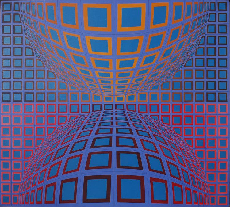 Victor Vasarely Artist of the momentVictor Vasarely galaxyofart