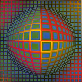 Victor Vasarely Victor Vasarely Opartcouk OpArtcouk