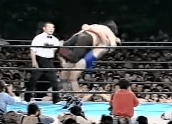 Victor Zangiev Shinya Hashimoto vs Victor Zangiev from 1989 Old New Japan