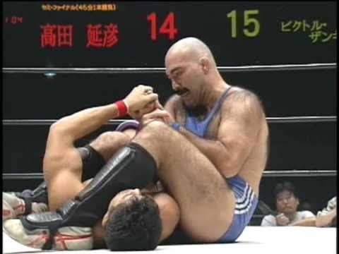 Victor Zangiev UWF Wrestling Takada vs Sangief YouTube