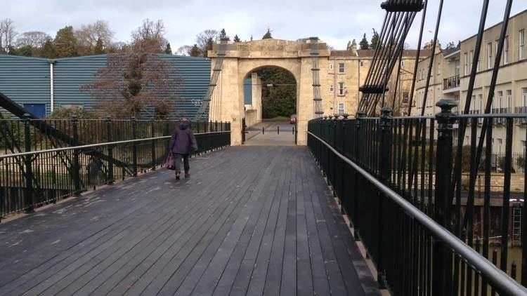 Victoria Bridge, Bath Victoria Bridge Bath 151214 YouTube