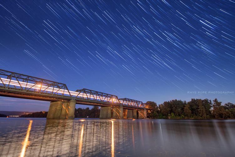 Victoria Bridge (Penrith) Train Of The Night VICTORIA BRIDGE PENRITH 43365 I Flickr