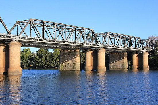 Victoria Bridge (Penrith) Victoria Bridge Nepean River Penrith NSWquot by YellowGecko Redbubble