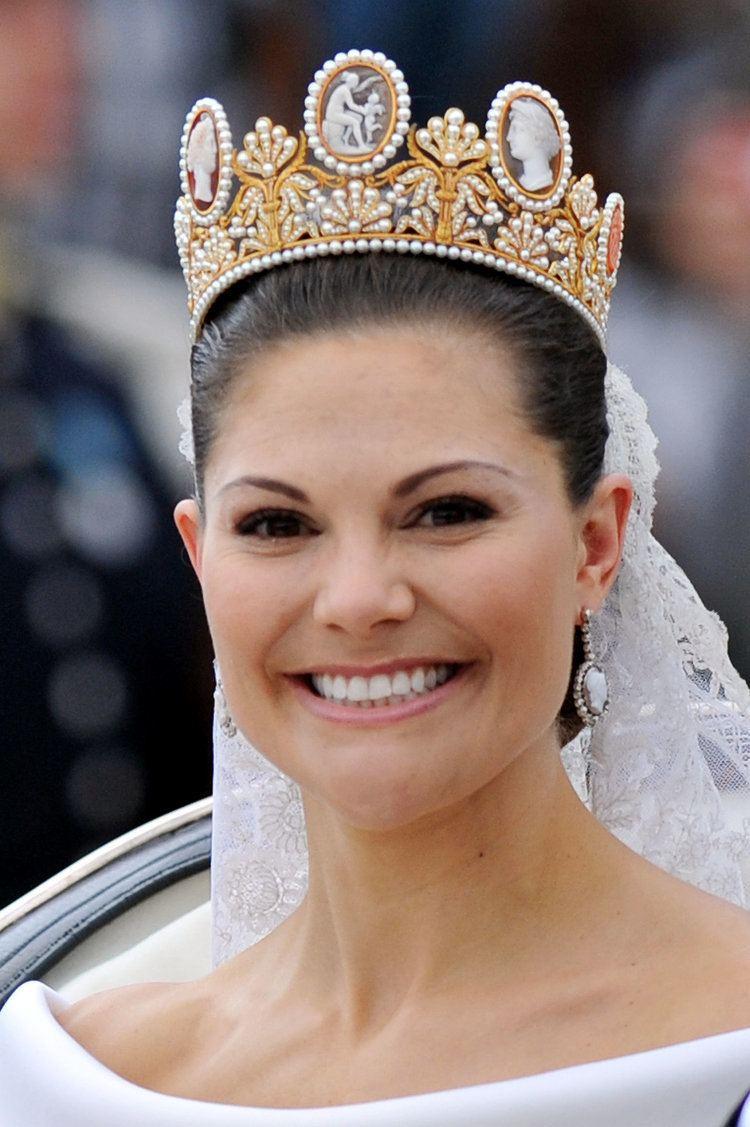Victoria, Crown Princess of Sweden Princess Victoria and Daniel Westling The Bride Victoria