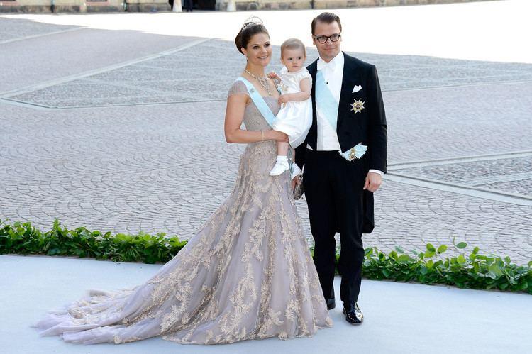 Victoria, Crown Princess of Sweden Crown Princess Victoria of Sweden and her husband Prince