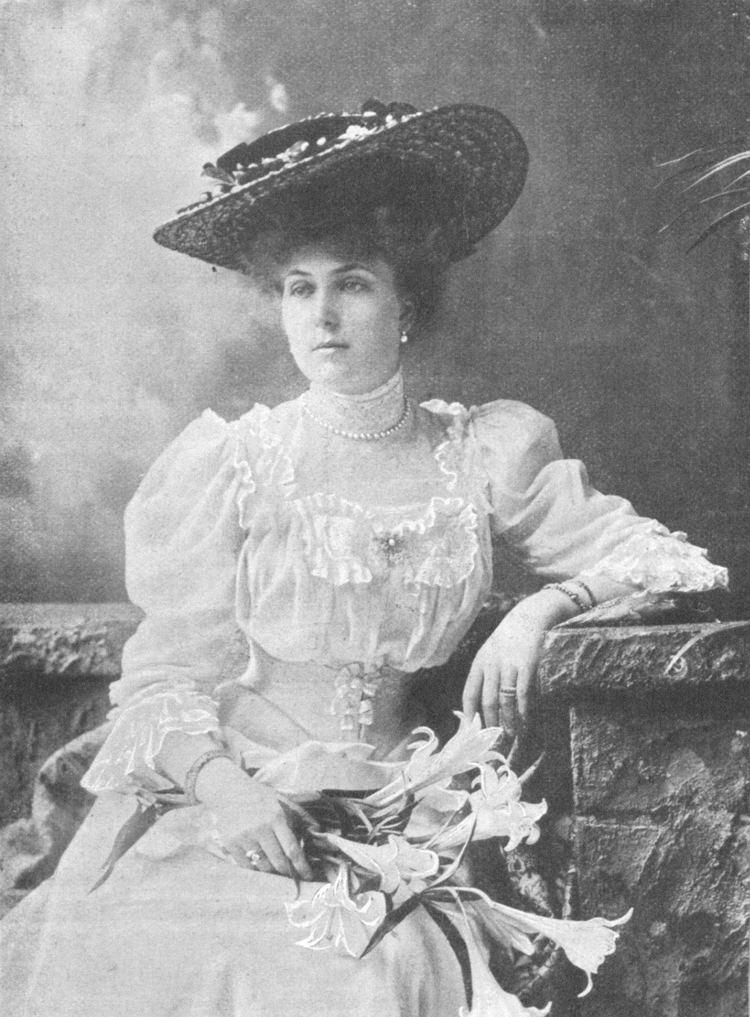 Victoria Eugenie of Battenberg Foto grande de una joven feminina y dulce Victoria