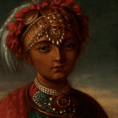 Victoria Gouramma Princess Victoria Gowramma of Coorg Object Detail Amir Mohtashemi